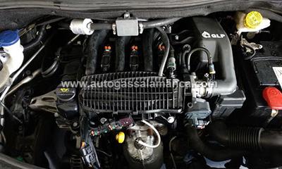 interior coche glp